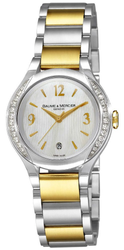 BAUME & MERCIER Ilea Gold & Diamond Ladies Watch 8775